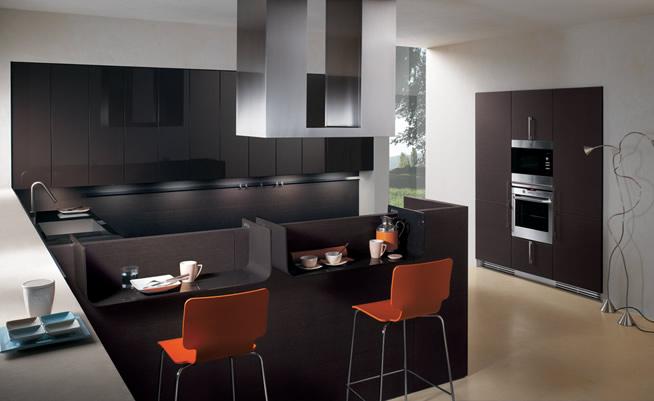 Decoration Chambre Avec Alcove : Cuisine design moderne