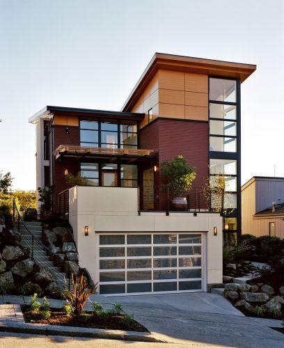 Maison cube en bois